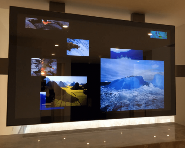 Switchable Film, Switchable Screens Touch and Interactive Screens